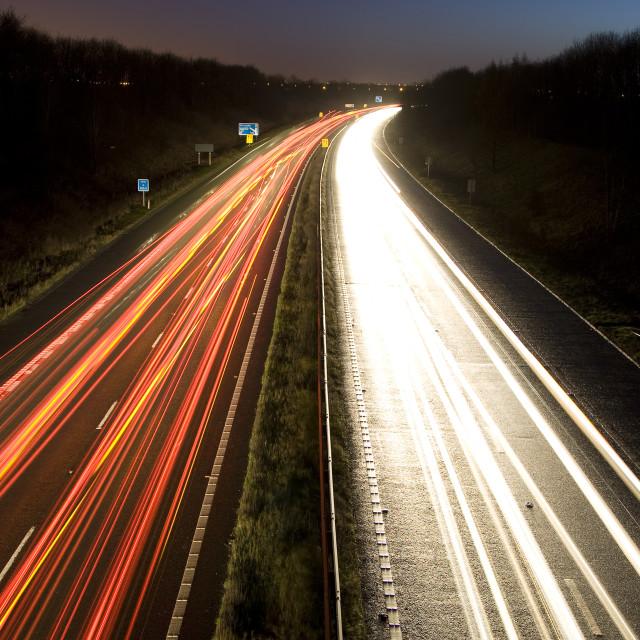 """""""M18 Motorway"""" stock image"""