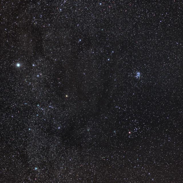 """Taurus in the night sky"" stock image"