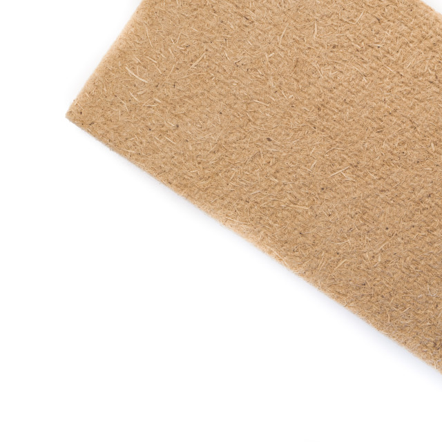 """compressed thermal insulating hemp fiber panel"" stock image"