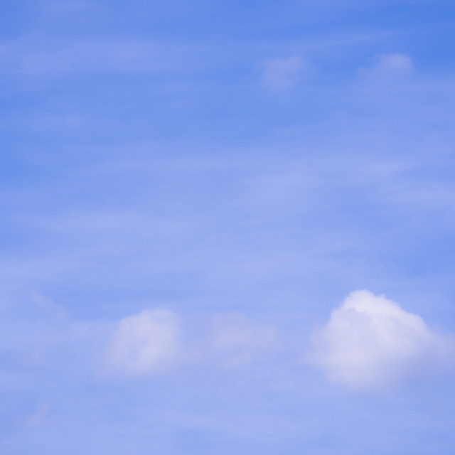 """baby blue sky - nature and outdoor backgrounds"" stock image"