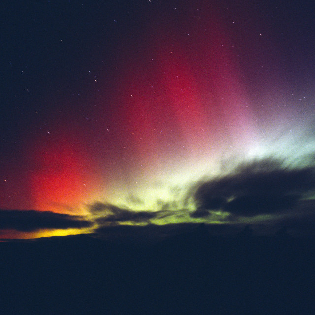 """Aurora Glen Dye"" stock image"