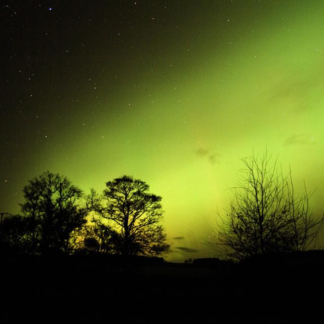 """aurora double arc expands"" stock image"
