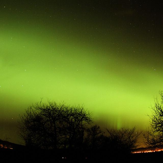 """aurora arc active scotland"" stock image"