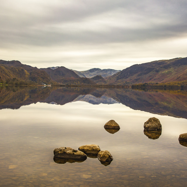 """Ullswater Lake"" stock image"