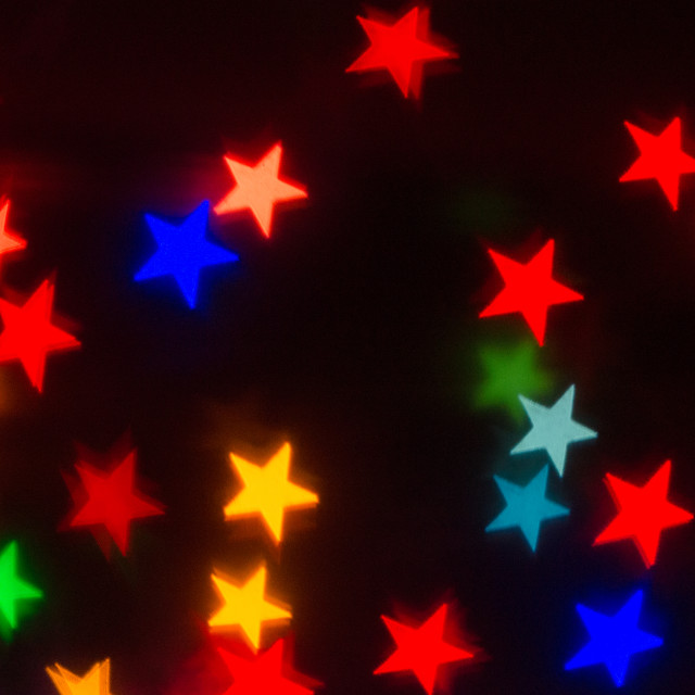 """Bokeh stars 2"" stock image"