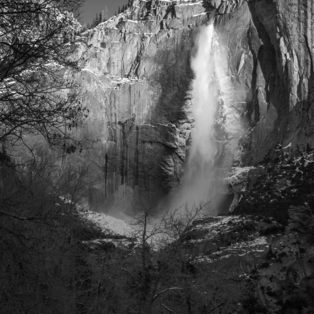 """Ansel Falls"" stock image"