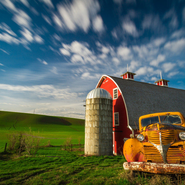 """A Day in Palouse"" stock image"