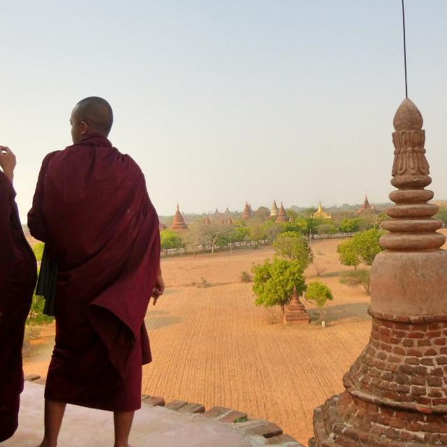 """Buddhist Monks"" stock image"