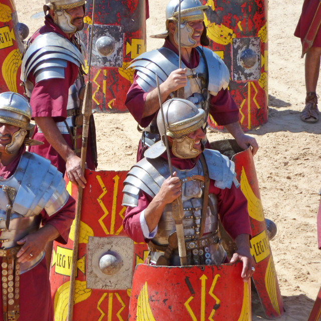 """Roman Soldiers"" stock image"