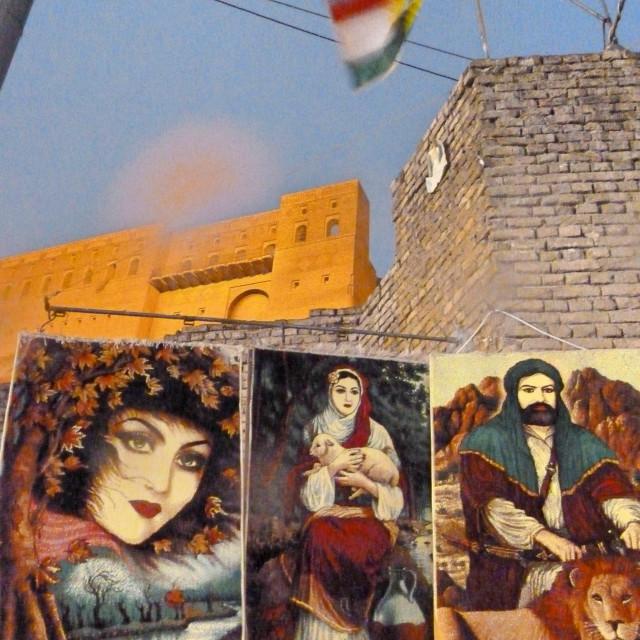 """Erbil Citadel"" stock image"
