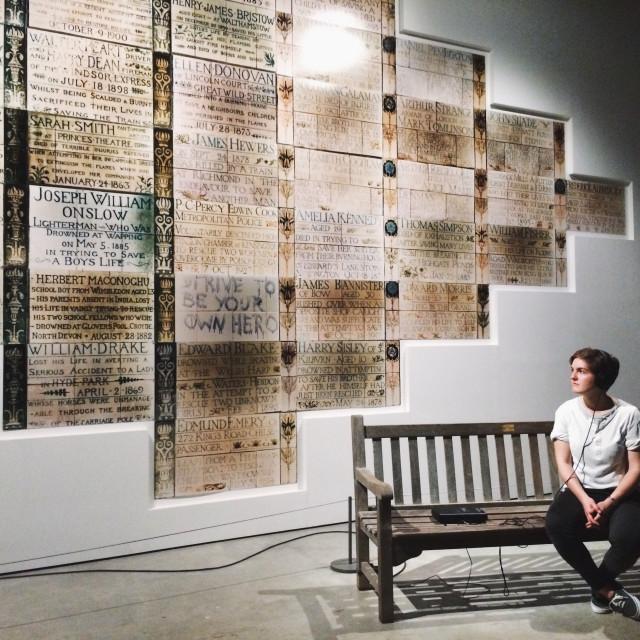 """""""Tate Modern Pt 3"""" stock image"""