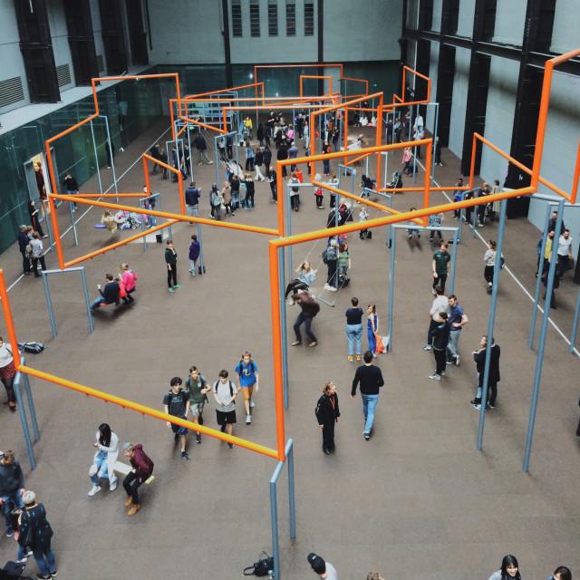 """""""Tate Modern Pt 2"""" stock image"""