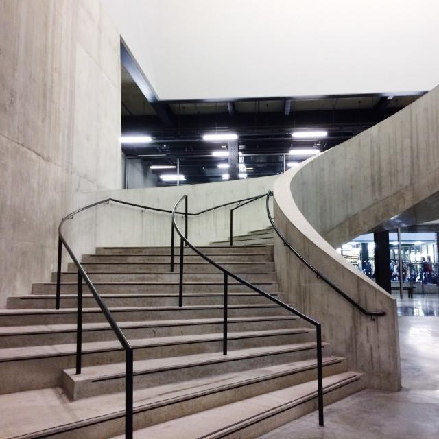 """""""Tate Modern Pt 4"""" stock image"""
