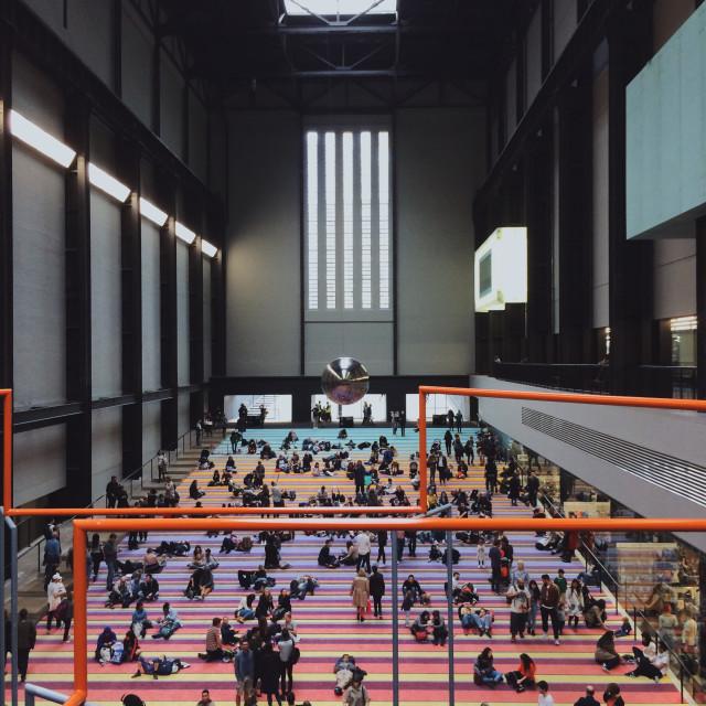 """""""Tate Modern Pt 1"""" stock image"""