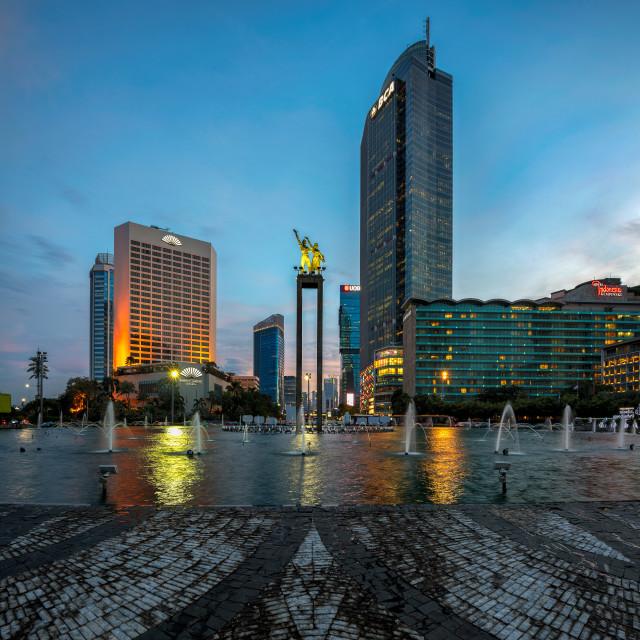 """Jakarta : Selamat Datang Monument (1/3)"" stock image"