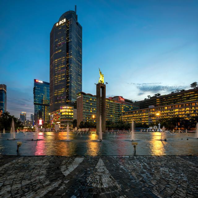 """Jakarta : Selamat Datang Monument (2/3)"" stock image"