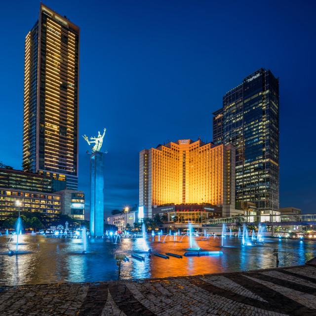 """Jakarta : Selamat Datang Monument (3/3)"" stock image"