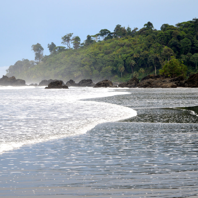 """Colombia's Pacific Coast"" stock image"