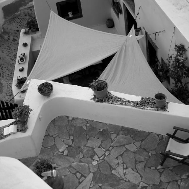 """Dream of Santorini"" stock image"