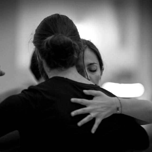 """""""Tango couple"""" stock image"""