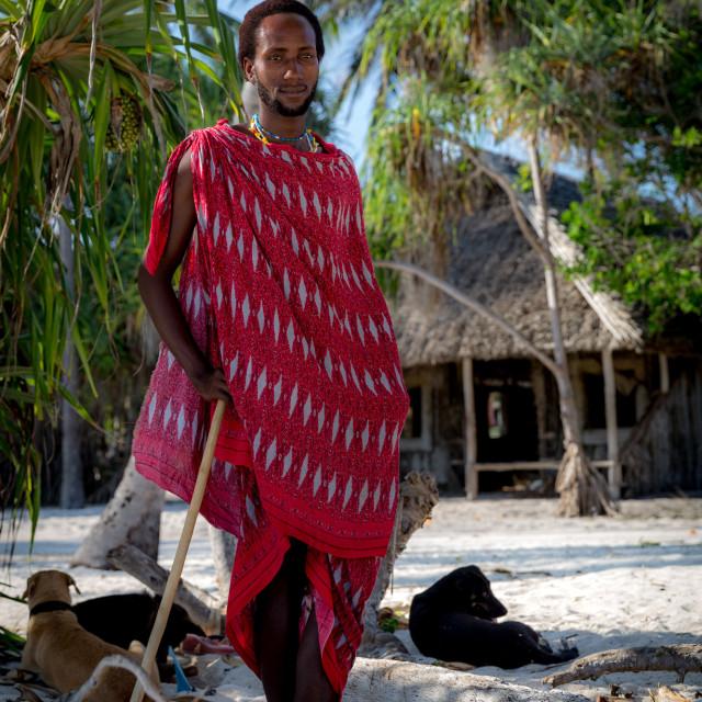 """Maasai people"" stock image"