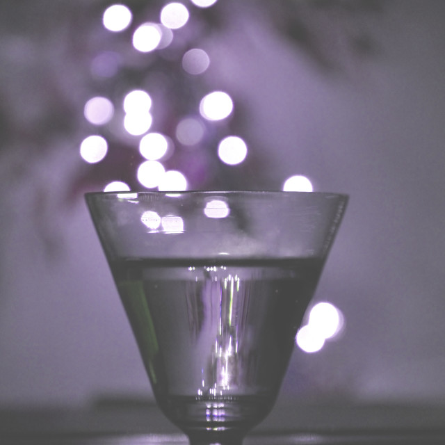 """""""Light drink new year"""" stock image"""