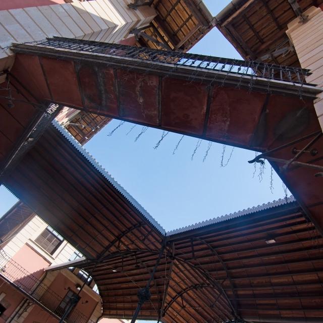 """Sant Juan Market exterior"" stock image"