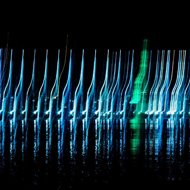 """Abstract lights"" stock image"