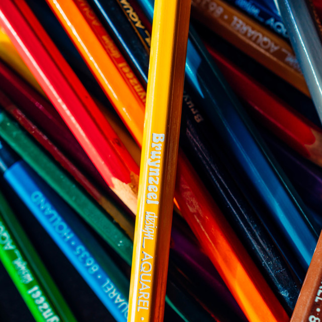 """""""Colorful pens"""" stock image"""