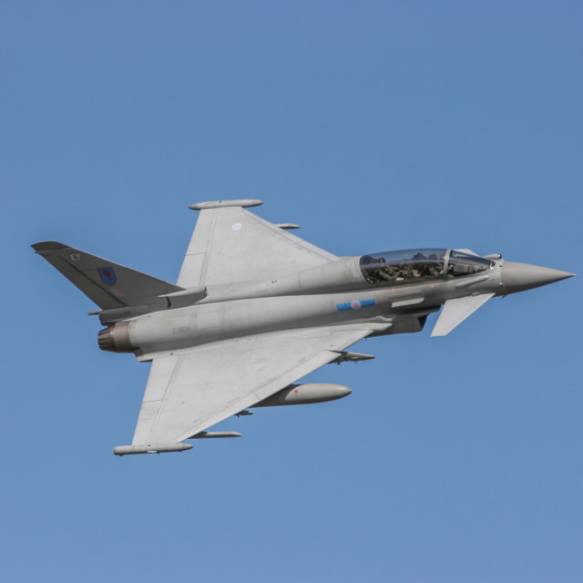 """BAE Typhoon FGR4 T3"" stock image"