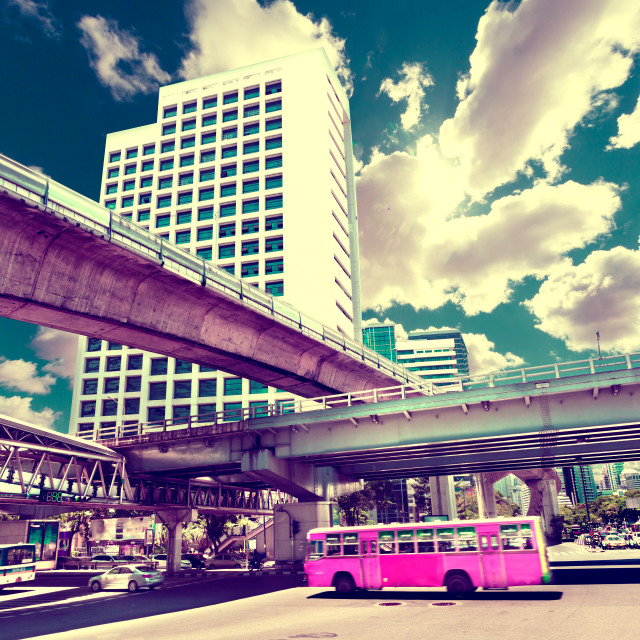 """Exotic travels and adventures .Thailand trip.Bangkok city"" stock image"