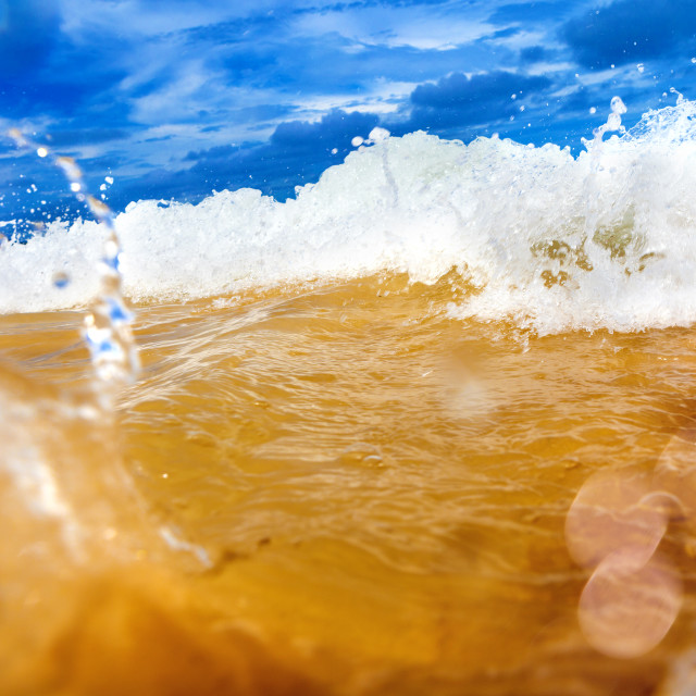 """Sea abstract background"" stock image"