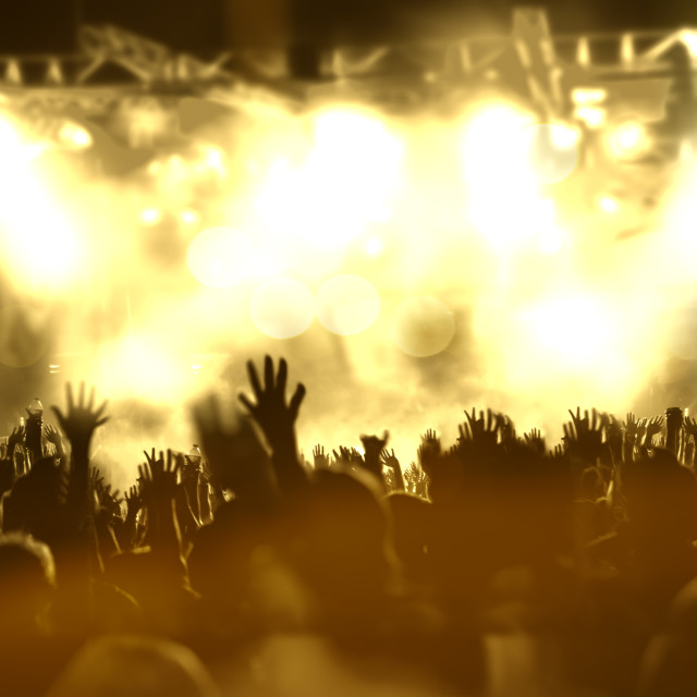 """Live music background"" stock image"