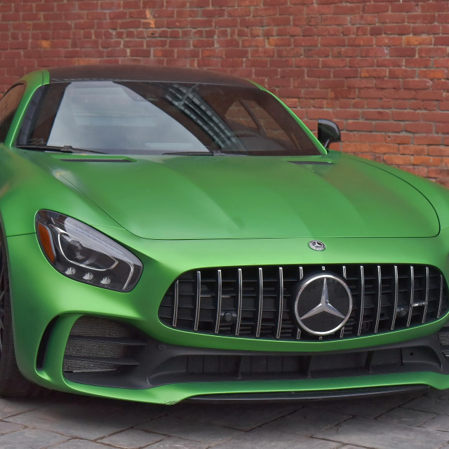 """""""2018 Mercedes AMG GT S"""" stock image"""
