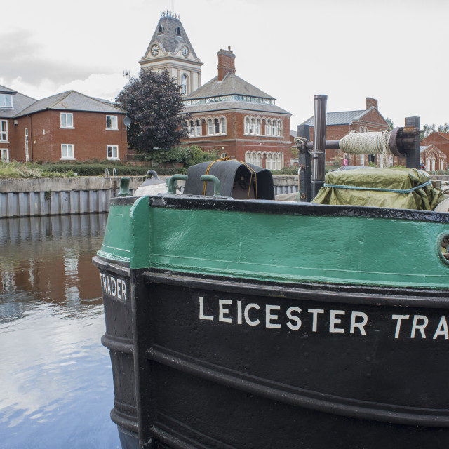 """""""Leicester Trader"""" stock image"""