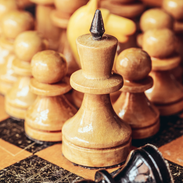 """""""Chess leader"""" stock image"""