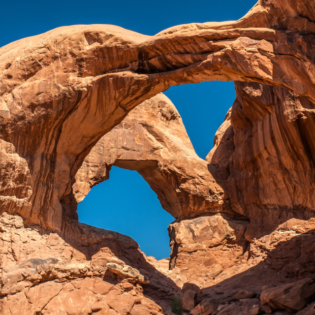 """Double Arch"" stock image"