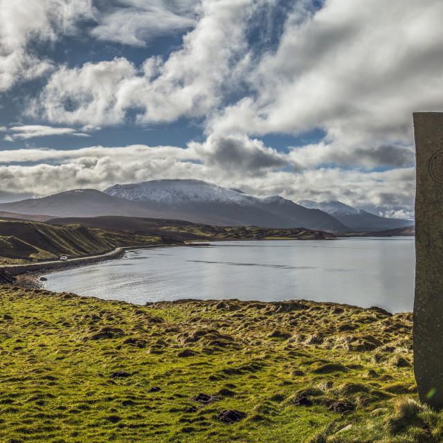 """Clan Mackay Stone"" stock image"