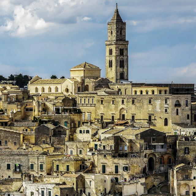 """""""Matera Italy"""" stock image"""