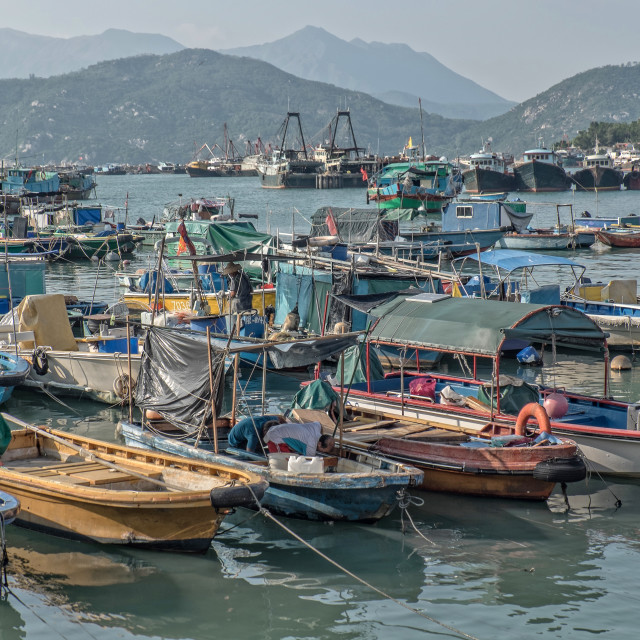 """Cheung Chau Island | Hong Kong"" stock image"