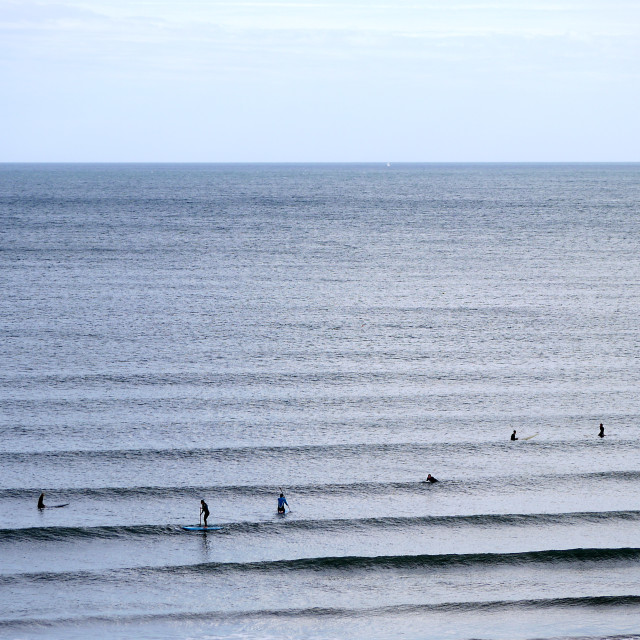 """Surf lines"" stock image"