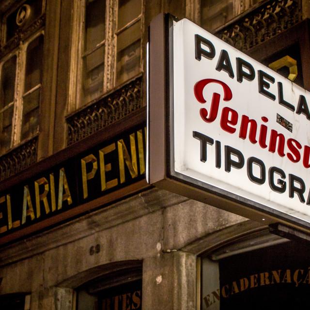 """""""Tipografia"""" stock image"""
