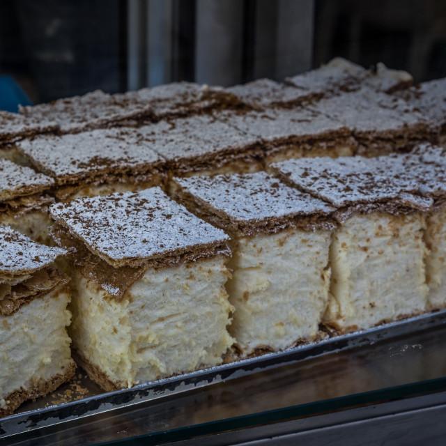 """""""Marshmellow Cakes"""" stock image"""