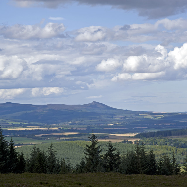 """Bennachie fm Hill Fare"" stock image"