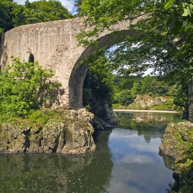 """Bridge of Alvah"" stock image"