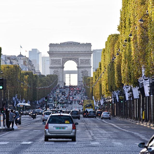 """""""Arch de Triomphe"""" stock image"""