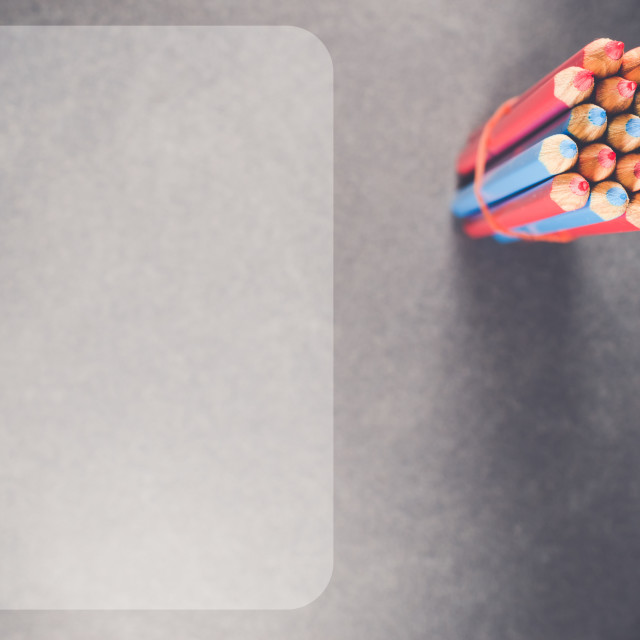"""""""objects backdrops - pencils"""" stock image"""