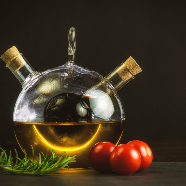 """Mediterranean Cooking"" stock image"