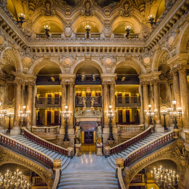 """Paris Opera House - Lobby"" stock image"