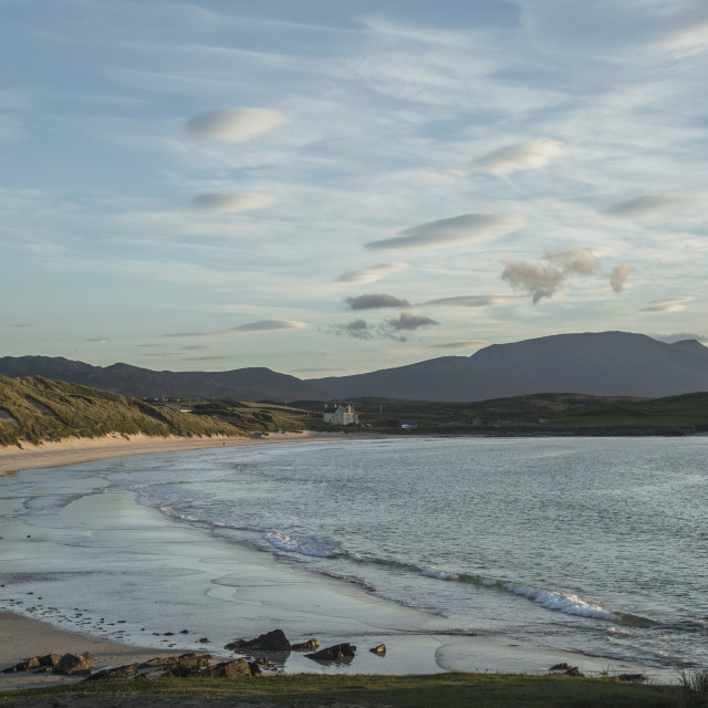 """Balnakeil Beach"" stock image"